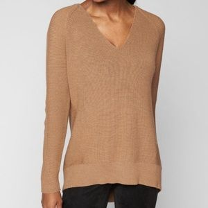 Athleta Merino Wool V-Neck Sweater